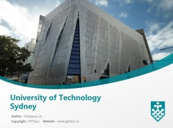 University of Technology Sydney powerpoint template download | 悉尼科技大学PPT模板下载