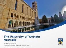 The University of Western Australia powerpoint template download | 西澳大学PPT模板下载