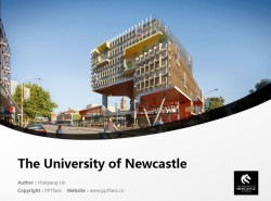 The University of Newcastle powerpoint template download | 纽卡斯尔大学PPT模板下载