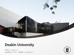 Deakin University powerpoint template download | 迪肯大学PPT模板下载
