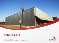 Pilbara TAFE powerpoint template download | 皮尔布拉学院PPT模板下载
