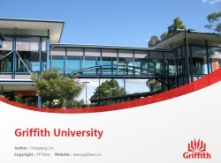 Griffith University powerpoint template download | 格里菲斯大学PPT模板下载