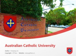 Australian Catholic University powerpoint template download | 澳大利亚天主教大学PPT模板下载