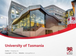 University of Tasmania powerpoint template download | 塔斯马尼亚大学PPT模板下载