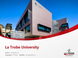 La Trobe University powerpoint template download | 拉筹伯大学PPT模板下载