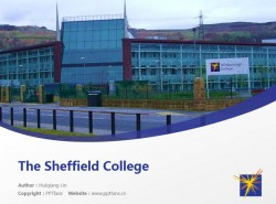 The Sheffield College powerpoint template download | 谢菲尔德学院PPT模板下载