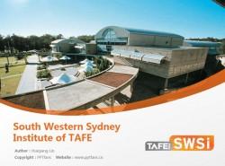 South Western Sydney Institute of TAFE powerpoint template download | 西南悉尼技术与继续教育学院PPT模板下载
