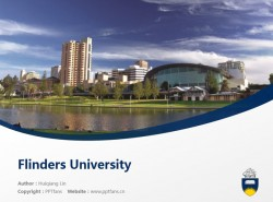 Flinders University powerpoint template download | 弗林德斯大学PPT模板下载