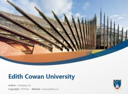 Edith Cowan University powerpoint template download | 埃迪斯科文大学PPT模板下载
