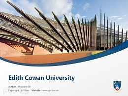 Edith Cowan University powerpoint template download | 埃迪斯科文大學PPT模板下載