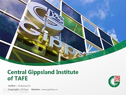 Central Gippsland Institute of TAFE powerpoint template download | 中吉普斯蘭理工學院PPT模板下載