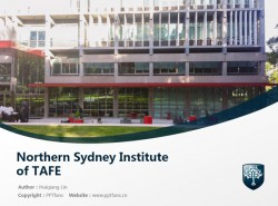 Northern Sydney Institute of TAFE powerpoint template download | 北悉尼技术与继续教育学院PPT模板下载