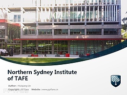 Northern Sydney Institute of TAFE powerpoint template download | 北悉尼技術與繼續教育學院PPT模板下載