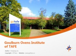 Goulburn Ovens Institute of TAFE powerpoint template download | 古尔本奥文斯技术与继续教育学院PPT模板下载