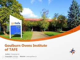 Goulburn Ovens Institute of TAFE powerpoint template download | 古爾本奧文斯技術與繼續教育學院PPT模板下載