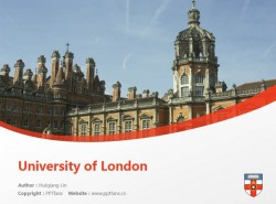 University of London powerpoint template download | 伦敦大学PPT模板下载