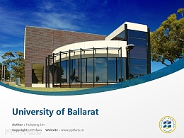 University of Ballarat powerpoint template download | 澳大利亞聯邦大學PPT模板下載