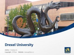 Drexel University powerpoint template download | 德雷塞尔大学PPT模板下载
