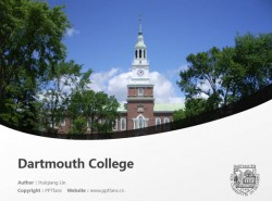 Dartmouth College powerpoint template download | 达特茅斯学院PPT模板下载