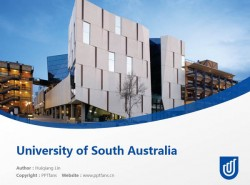 University of South Australia powerpoint template download | 南澳大学PPT模板下载