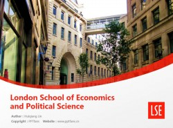 London School of Economics and Political Science powerpoint template download | 伦敦政治经济学院PPT模板下载