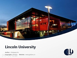 Lincoln University powerpoint template download | 林肯大学PPT模板下载