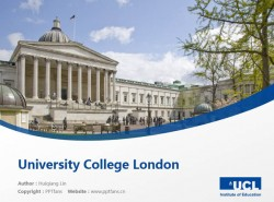 University College London powerpoint template download | 伦敦大学学院PPT模板下载