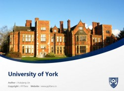 University of York powerpoint template download | 约克大学PPT模板下载