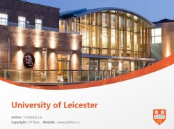 University of Leicester powerpoint template download | 莱斯特大学PPT模板下载