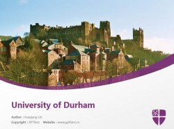 University of Durham powerpoint template download | 杜伦大学PPT模板下载