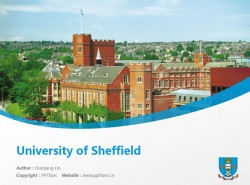 University of Sheffield powerpoint template download | 谢菲尔德大学PPT模板下载