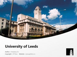 University of Leeds powerpoint template download | 利兹大学PPT模板下载
