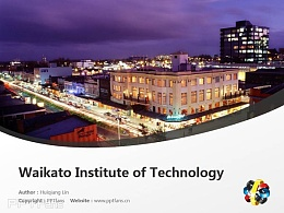 Waikato Institute of Technology powerpoint template download | 怀卡托理工学院PPT模板下载