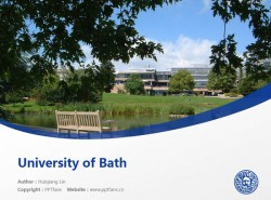 University of Bath powerpoint template download | 巴斯大学PPT模板下载