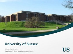 University of Sussex powerpoint template download | 萨塞克斯大学PPT模板下载