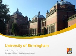 University of Birmingham powerpoint template download | 伯明翰大学PPT模板下载