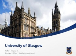 University of Glasgow powerpoint template download | 格拉斯哥大学PPT模板下载