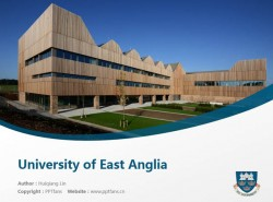 University of East Anglia powerpoint template download | 东英吉利亚大学PPT模板下载
