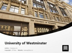 University of Westminster powerpoint template download | 威斯敏斯特大学PPT模板下载