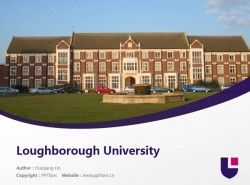 Loughborough University powerpoint template download | 拉夫堡大学PPT模板下载
