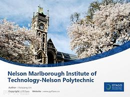 Nelson Marlborough Institute of Technology-Nelson Polytechnic powerpoint template download | 尼尔森理工学院PPT模板下载
