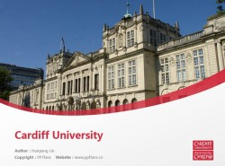 Cardiff University powerpoint template download | 卡迪夫大学PPT模板下载