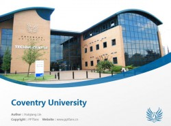 Coventry University powerpoint template download | 考文垂大学PPT模板下载