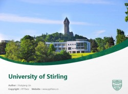 University of Stirling powerpoint template download | 斯特灵大学PPT模板下载