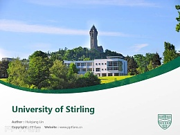 University of Stirling powerpoint template download | 斯特靈大學PPT模板下載