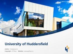 University of Huddersfield powerpoint template download | 哈德斯菲尔德大学PPT模板下载