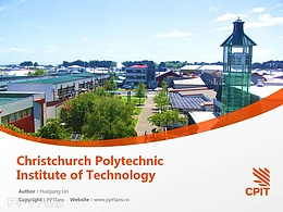 Christchurch Polytechnic Institute of Technology powerpoint template download | 基督城理工学院PPT模板下载