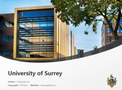 University of Surrey powerpoint template download | 萨里大学PPT模板下载