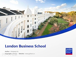 London Business School powerpoint template download | 伦敦商学院PPT模板下载