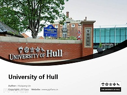 University of Hull powerpoint template download | 赫尔大学PPT模板下载